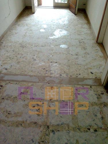 graniglia umidità risalita stuccatura