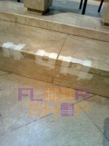 restauro stuccatura scalini